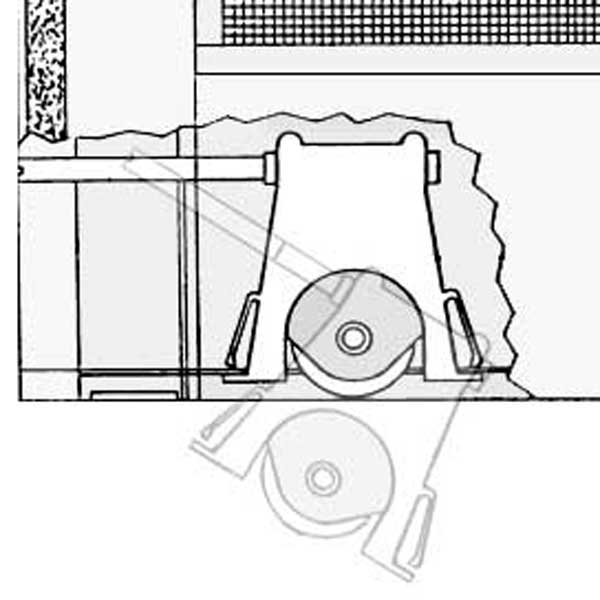 andersen screen door roller